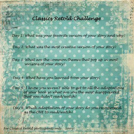 classics retold challenge